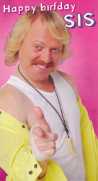 Keith Lemon Sister Birthday Card