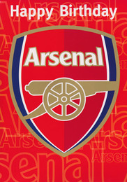 Arsenal Football Club Birthday Card [Sound Card]