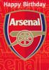 Arsenal Football Club Birthday Card [Sound Card]