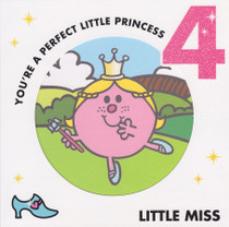 Little Miss  4th Birthday Card