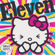 Hello Kitty 11th Birthday Card