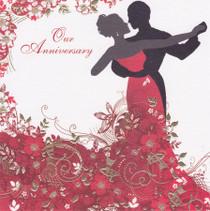 Sara Miller Anniversary Card
