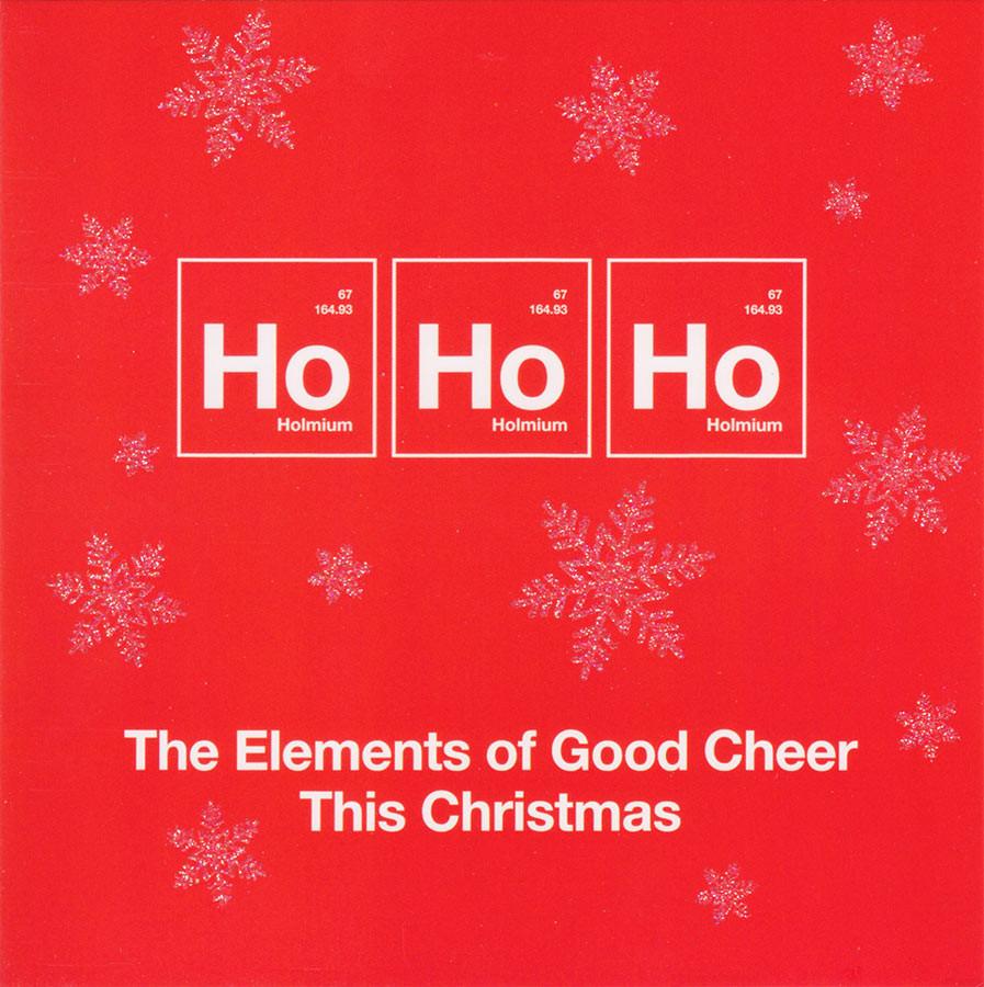 Ho Ho Ho Christmas Card - One Big Element - CardSpark