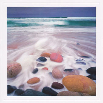Boulders In Surf photographic Card