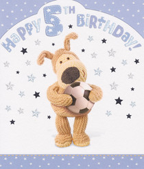 Boofle - 5th Birthday Card