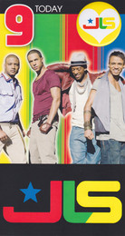 JLS - 8th Birthday Card
