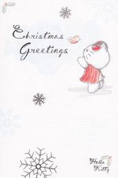 Hello Kitty - Christmas Card