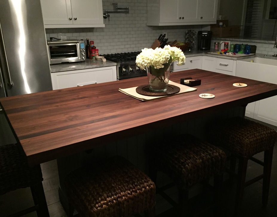 butchers block countertop cost custom butcher countertops minneapolis edge grain walnut conditioner estimator