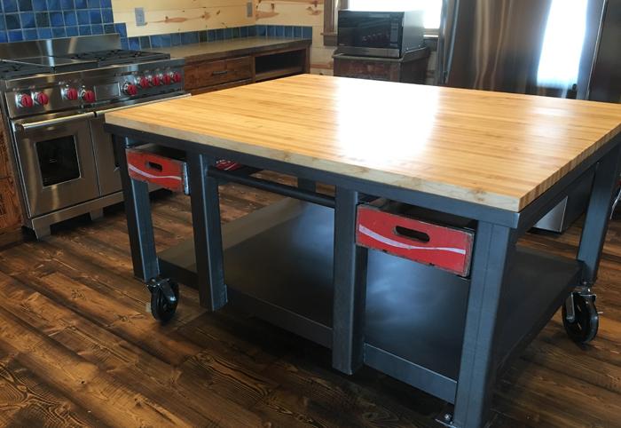 Hard Maple Butcher Block Countertop