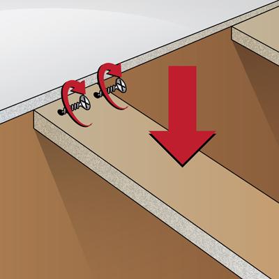 Install Cabinet Bracing For Butcher Block Countertop