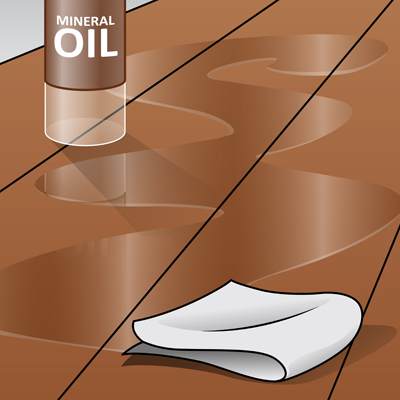Oil and Condition Your Butcher Block Countertop