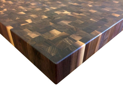 End Grain Rustic Walnut Butcher Block Countertop   Customize U0026 Order Online
