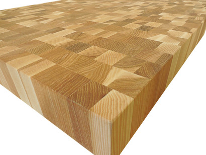 End Grain Hickory Butcher Block Countertop Customize Order Online