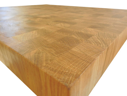 White Oak End Grain Countertop