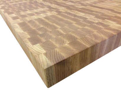 End Grain Red Oak Butcher Block Countertop Customize Order Online