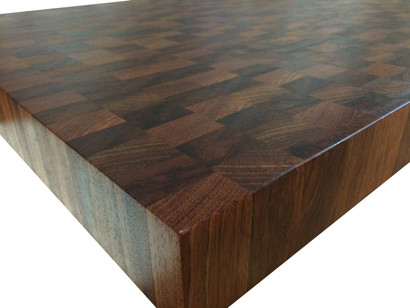 End Grain Brazilian Cherry Jatoba Butcher Block Countertop