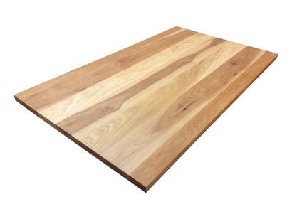 Hickory Plank Tabletop. Wood Tabletops   Armani Fine Woodworking