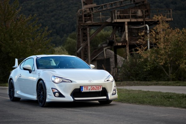 Pearl White Toyota Gt86 With Tune Package In Germany Furious Customs