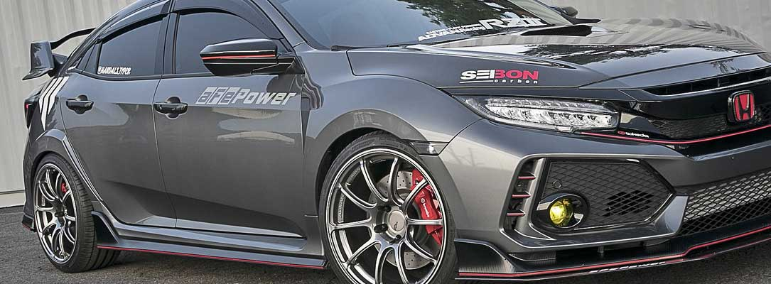 Advan Wheels on Civic Type R