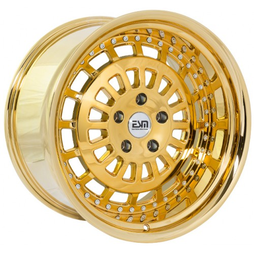 ESM 015 Wheel in Gold Platinum