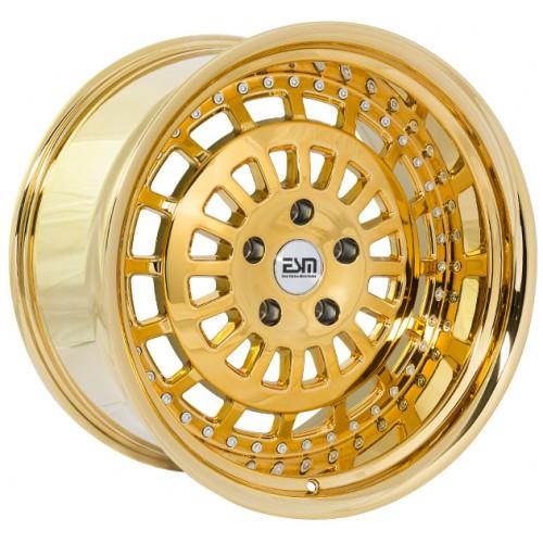 ESM 015 Wheel in Gold Platinum