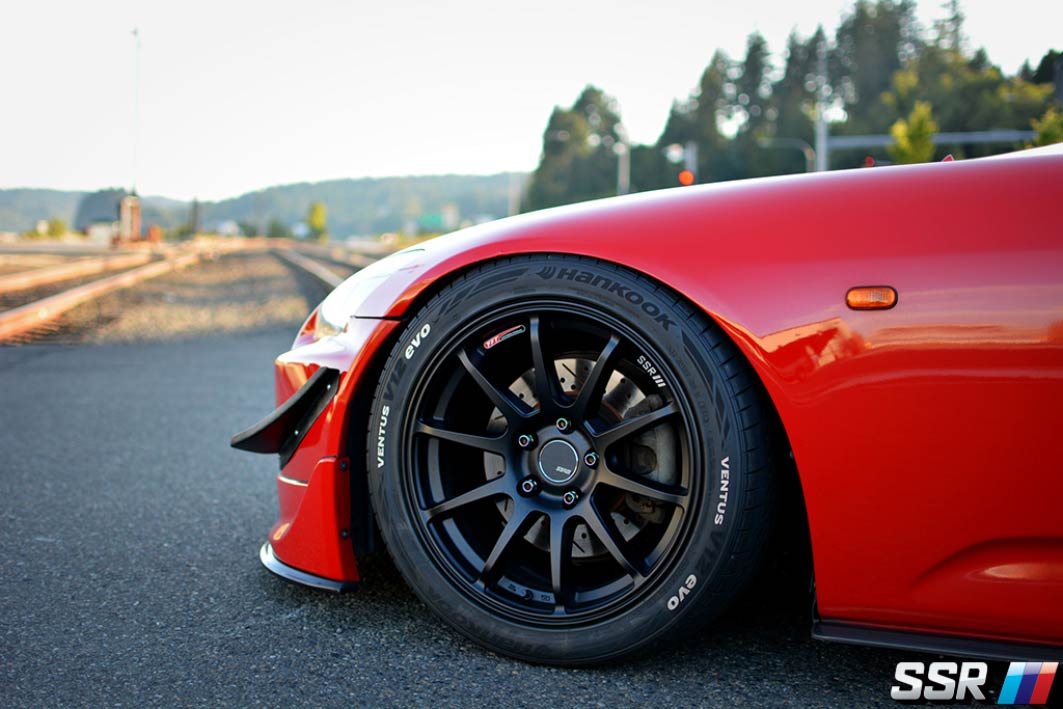 SSR GTV02 Wheels on Honda S2000