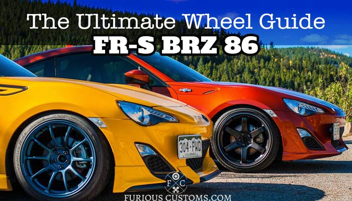 Subaru Brz Vs Toyota 86 >> The Ultimate Wheel Guide for the Scion FR-S / Subaru BRZ ...