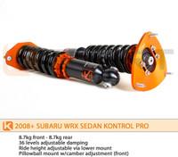 KSport Kontrol Pro Coilovers - Subaru Impreza WRX 2008-Current