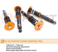 KSport Kontrol Pro Coilovers - Toyota Supra 1987-1992