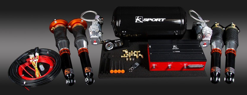 Ksport Airtech Deluxe Air Suspension - Nissan 240sx 1995-1998