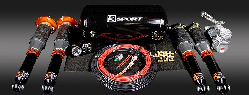Ksport Airtech Basic Air Suspension  - Nissan GT-R 2009-Current