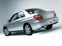 Borla Cat-Back Exhaust - Subaru WRX 02-05 4DR/Wagon