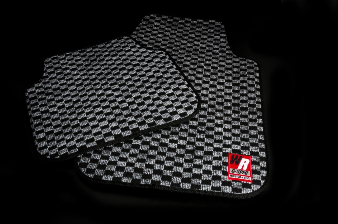 Jdm Inspired Checkered Floor Mats 60 Shipped Zilvia