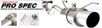 Buddy Club Pro Spec Exhaust Civic 96-00 Hatch Back EK