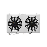 Mishimoto Aluminum Fan Shroud Kit - 08+ Mitsubishi Lancer Evolution 10 Fan Shroud Kit