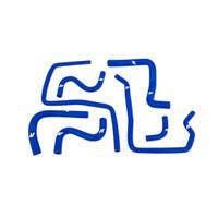 Mishimoto 01-05 Subaru WRX Silicone Ancillary Hoses, Blue