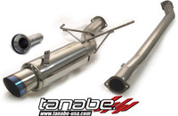Tanabe Medalion Concept G Blue Turbo Back Exhaust - Nissan 240SX 89-94