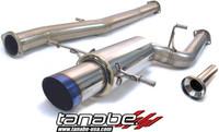 Tanabe Medalion Concept G Blue Turbo Back Exhaust - Subaru Impreza WRX Sti 04-06