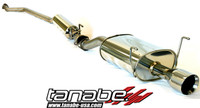 Tanabe Medalion Touring Cat-Back Exhaust - Acura RSX Non Type S 02-05