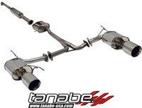 Tanabe Medalion Touring Cat-Back Exhaust - Acura TL 3.2L 02-07
