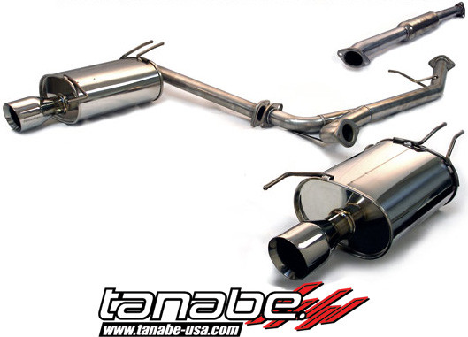 Tanabe Medalion Touring CatBack Exhaust Acura TSX - Acura tsx exhaust