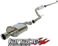 Tanabe Medalion Touring Cat-Back Exhaust - Honda Civic Coupe Ex 06-06