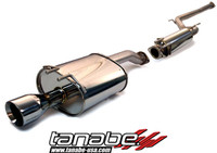 Tanabe Medalion Touring Cat-Back Exhaust - Honda Civic Coupe Si 96-00