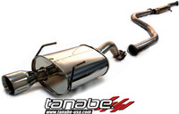 Tanabe Medalion Touring Cat-Back Exhaust - Honda Civic Coupe/Sedan 92-95