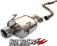 Tanabe Medalion Touring Cat-Back Exhaust - Honda Civic Hatchback 92-95