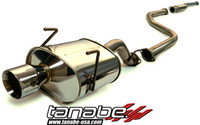 Tanabe Medalion Touring Cat-Back Exhaust - Honda Civic Hatchback 96-00