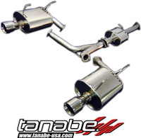 Tanabe Medalion Touring Cat-Back Exhaust - Honda S2000 00-05