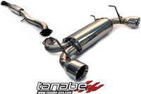 Tanabe Medalion Touring Cat-Back Exhaust - Infiniti G35 Coupe 03-06