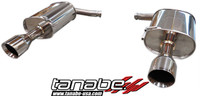 Tanabe Medalion Touring Cat-Back Exhaust - Infiniti G35 Sedan 07-08
