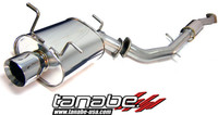 Tanabe Medalion Touring Cat-Back Exhaust - Infiniti G35 Sedan 05-05